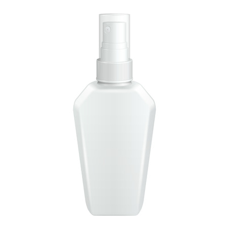 freshener: Spray Cosmetic Parfume, Deodorant, Freshener Or Medical Antiseptic  Illustration