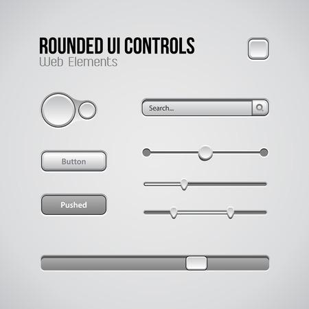 controls: Web UI Controls Design Elements