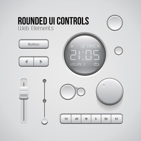 sound off: Web UI Controls Design Elements Buttons