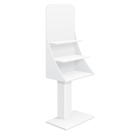 display stand: Tabletop Stand, Cardboard Floor Display Rack For Supermarket
