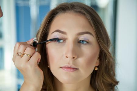 hair do: Make up artist do a professional makeup