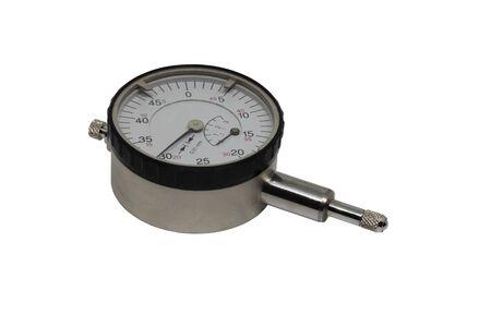 measuring instrument: Measuring instrument isolated on white.