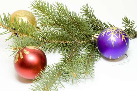 Christmas balls photo