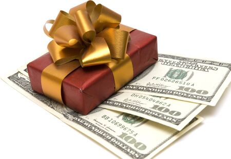 money and gift Stock Photo - 2781048