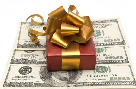 money and gift Stock Photo - 2781053