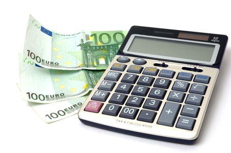 calculator and money photo