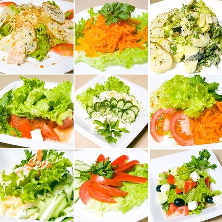 cos: salad