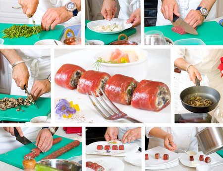 chef cooking Stock Photo - 12365974