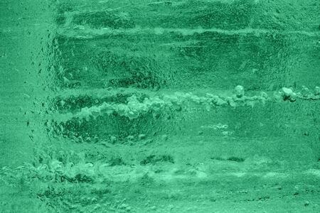 Awesome green ice background. Background with empty space fot text or image. Фото со стока