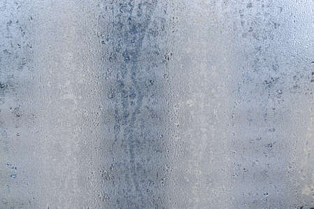 abstract background with wet window glass. rainy autumn weather