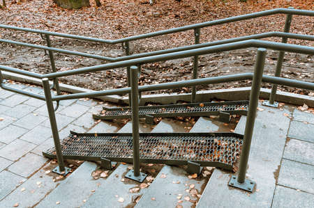 ramp for people with limited mobility. High quality photo