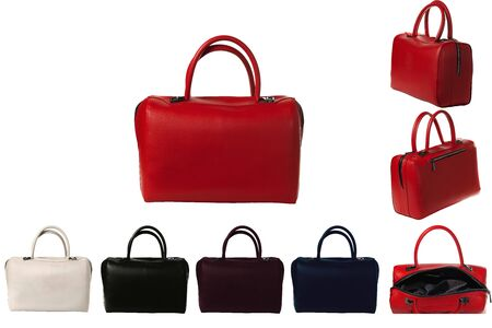 Womens hand bag in different colors and types