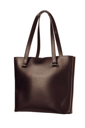 Isolate of Womens Casual Bag with Simple Design Archivio Fotografico