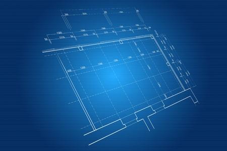 Blueprint background photo