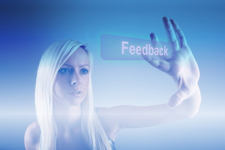 excellent background: Feedback process