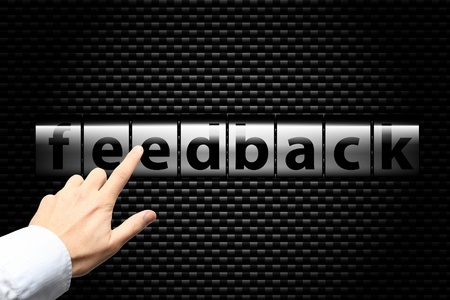 Feedback process Stock Photo - 11885085