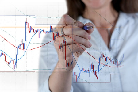 Forex trading Stock Photo - 12053143