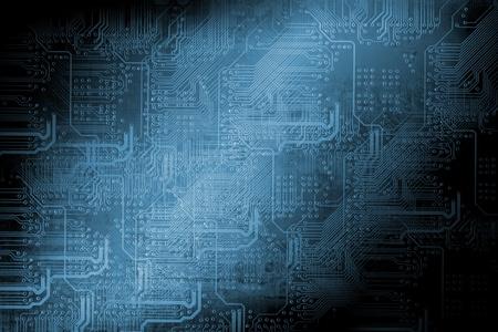 Microchip background - technology concept Stok Fotoğraf