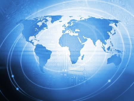World Business Background Stok Fotoğraf