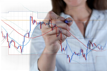 candlestick: Forex trading