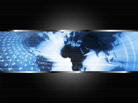 World Business Background Stock Photo