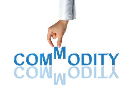 Commodity trading Stock Photo