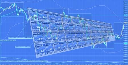 Forex trading Stock Photo - 12282607