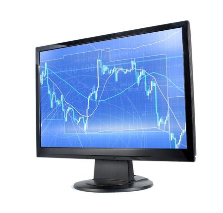 Forex trading Stock Photo - 12282602