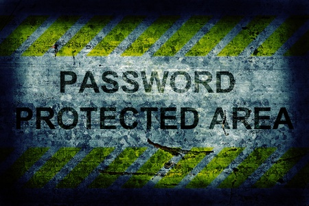 Password protection Stock Photo - 12282615