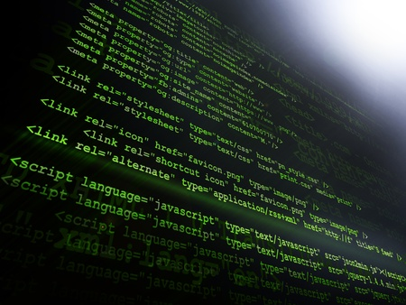 Source code Stock Photo - 12282610