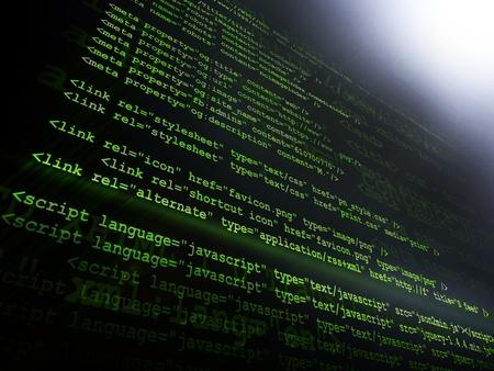 code computer: Source code