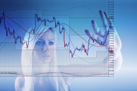 Forex trading Stock Photo - 12930037