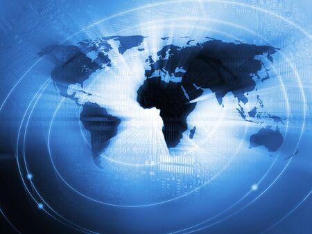 mapa de africa: Fondo Mundial de Negocios