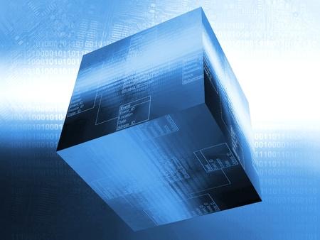 データベース テーブル 写真素材