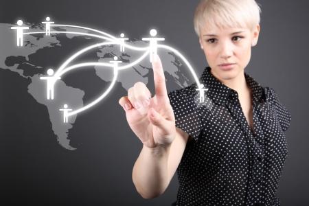 сеть: Социальная концепция сети