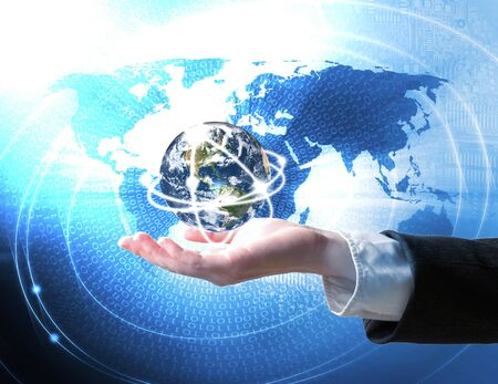 World business connection concept Stock Photo - 13173509