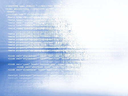 Source code technology background photo