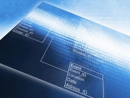 Database Table photo