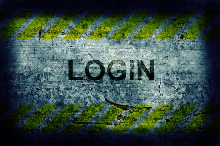 Login background Stock Photo - 14850286