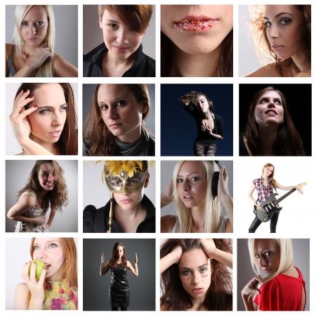 Portraits series photo