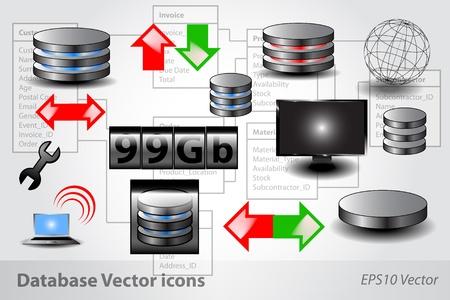 Database Icons Çizim
