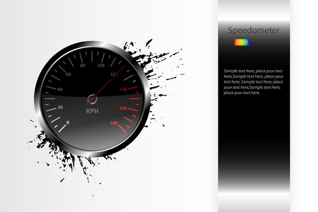Speedometer Stock Vector - 15805406