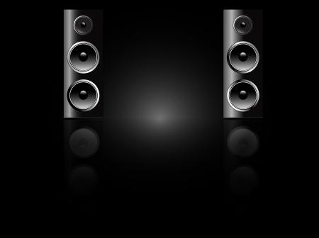 Enregistrement en studio haut-parleurs Banque d'images - 15805374