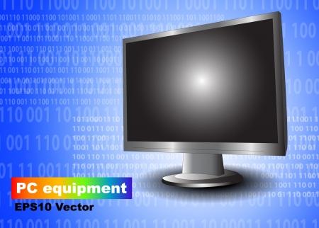 Monitor vector Stock Vector - 15901074