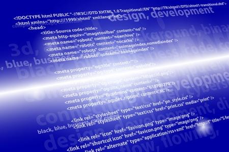 quelle: Vector Source Code Technologie Hintergrund