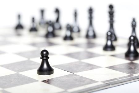 チェスの数字 - 戦略とリーダーシップの概念