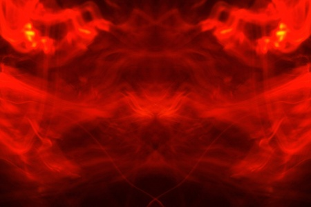 Abstract Fire Background with Flames photo
