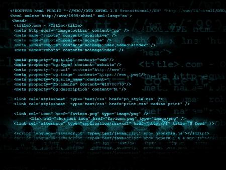 Source code technology background, illustration Stok Fotoğraf