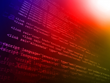 Source code Stock Photo - 17672160