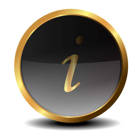 Information vector button in 3D photo
